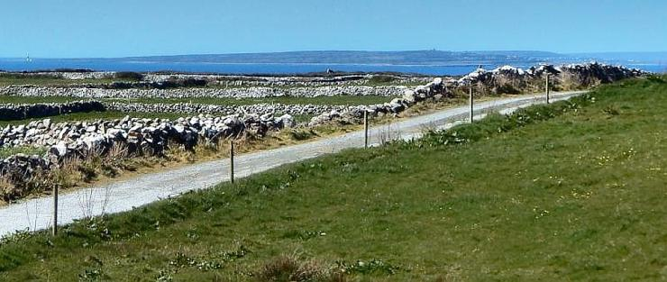 View to the Aran Islands